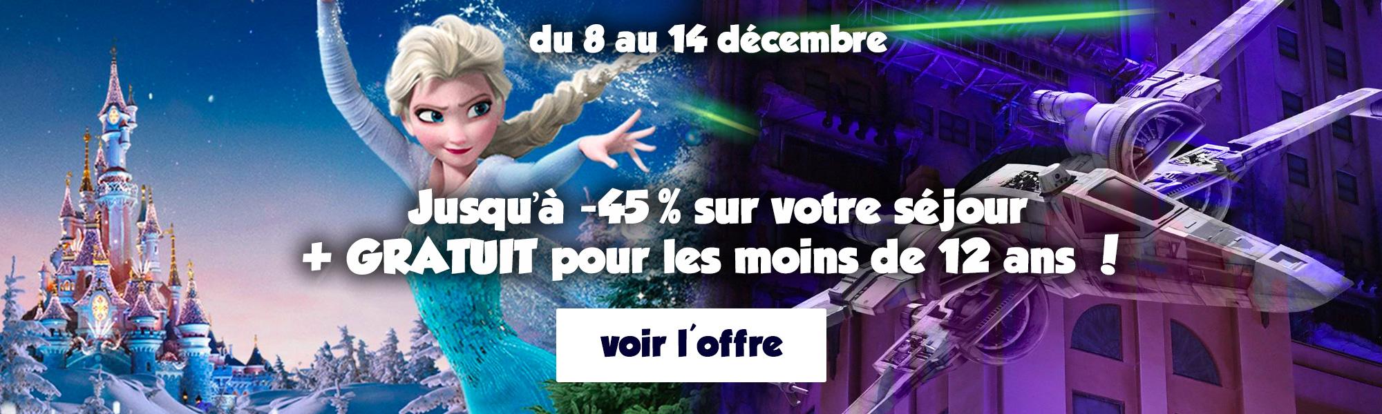 promo du moment Disneyland Paris