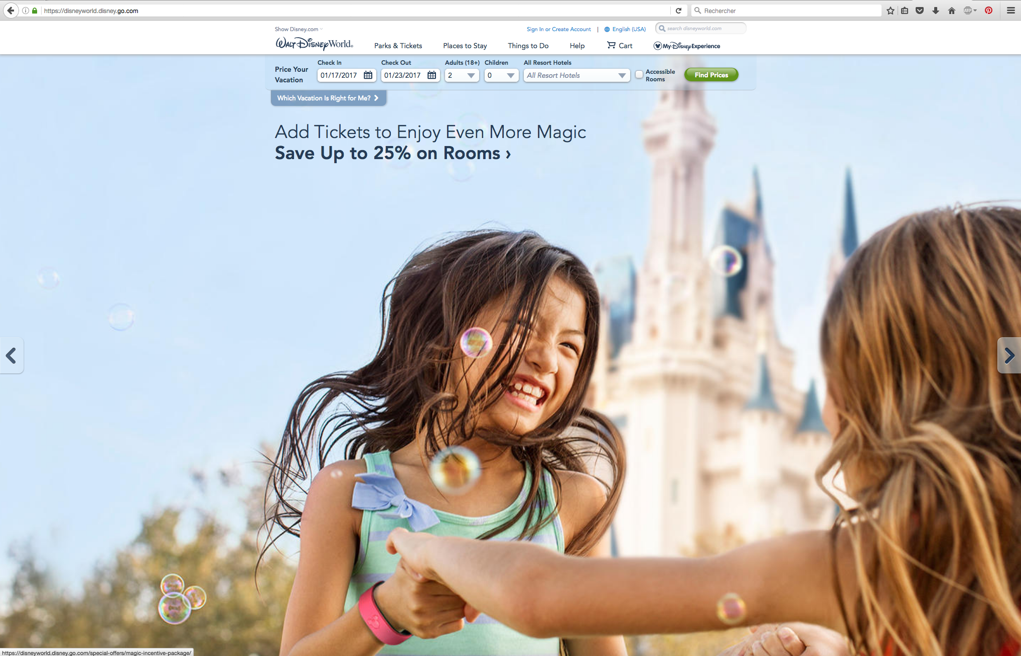Site US - Walt Disney World