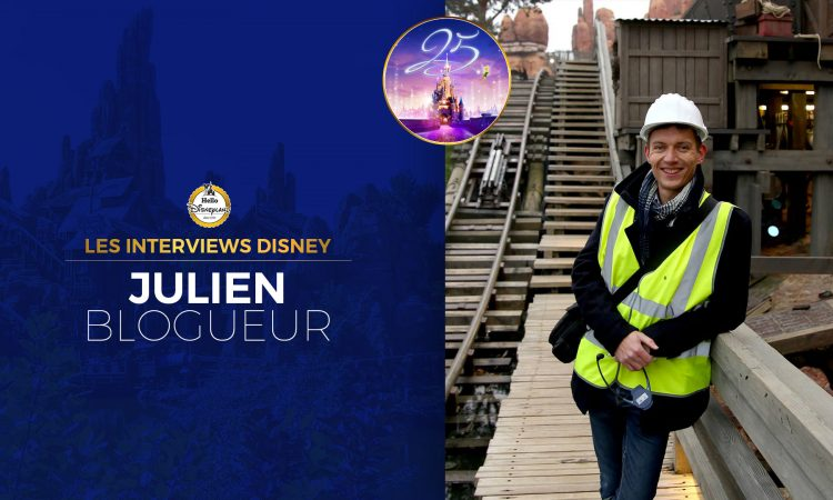 Julien blogueur Thunderide Disneyland Paris