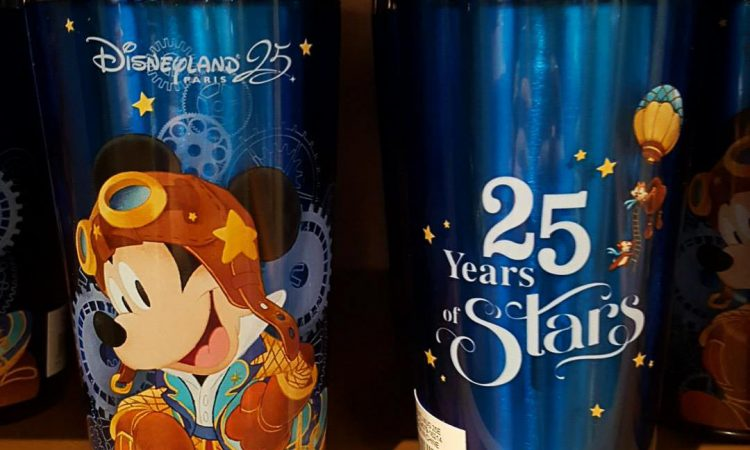 Merchandising shopping 25 ans - Disneyland Paris