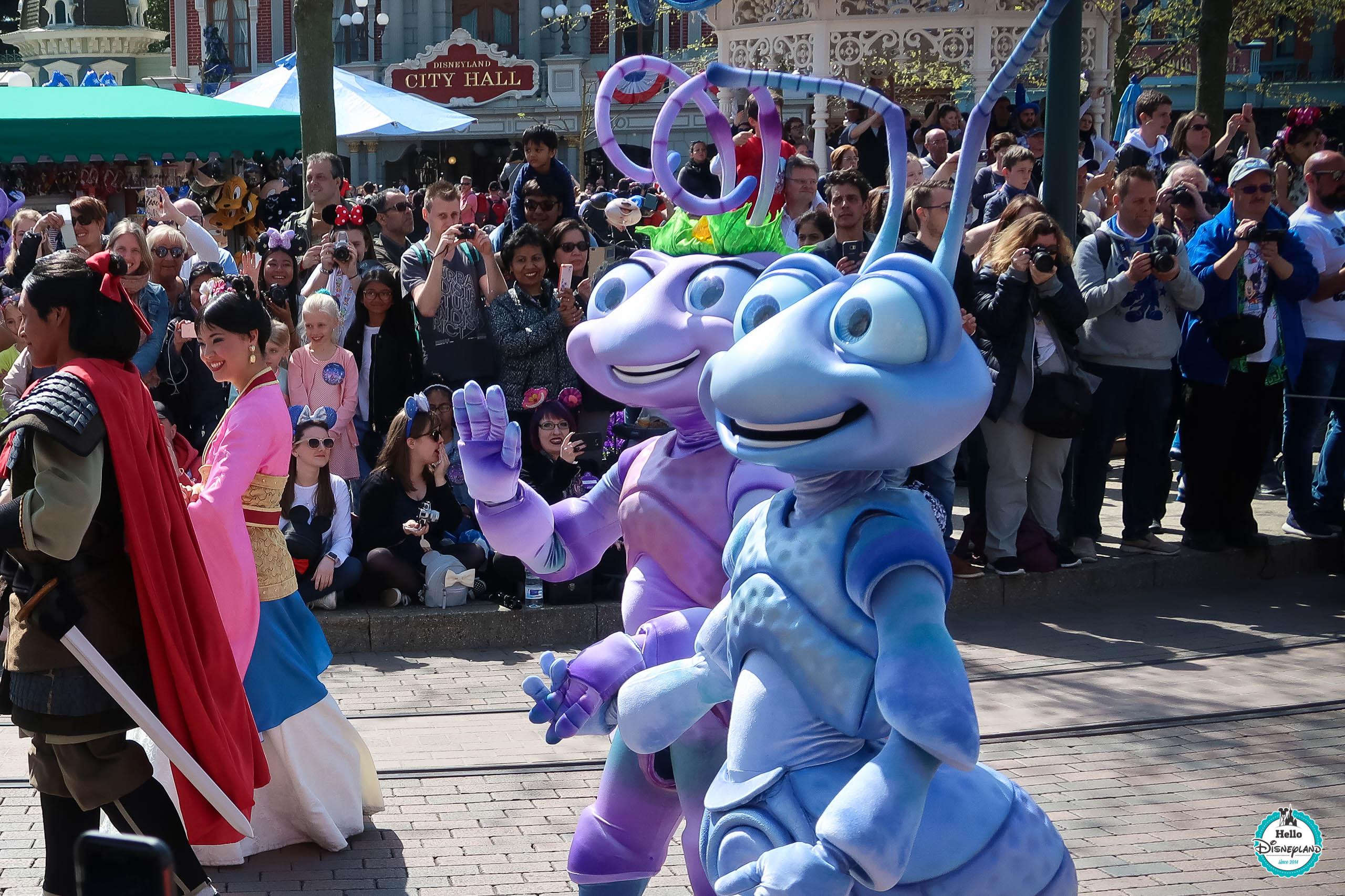 12 avril 2017 - Disneyland Paris 25 ans