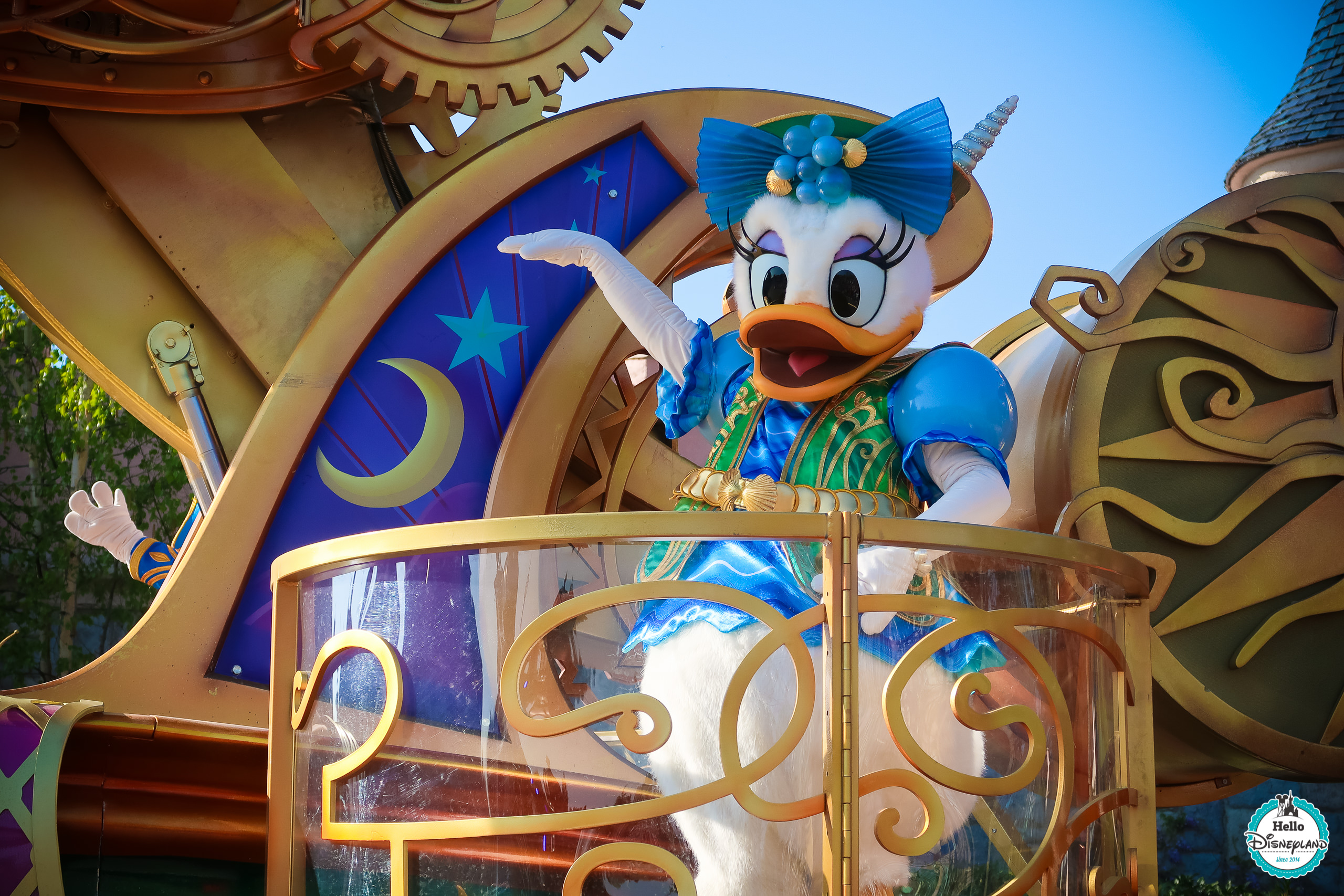 Où se placer Disney Stars on Parade 25 ans - Disneyland Paris