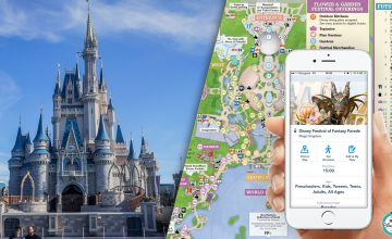 Plans, programme etr application Walt Disney World