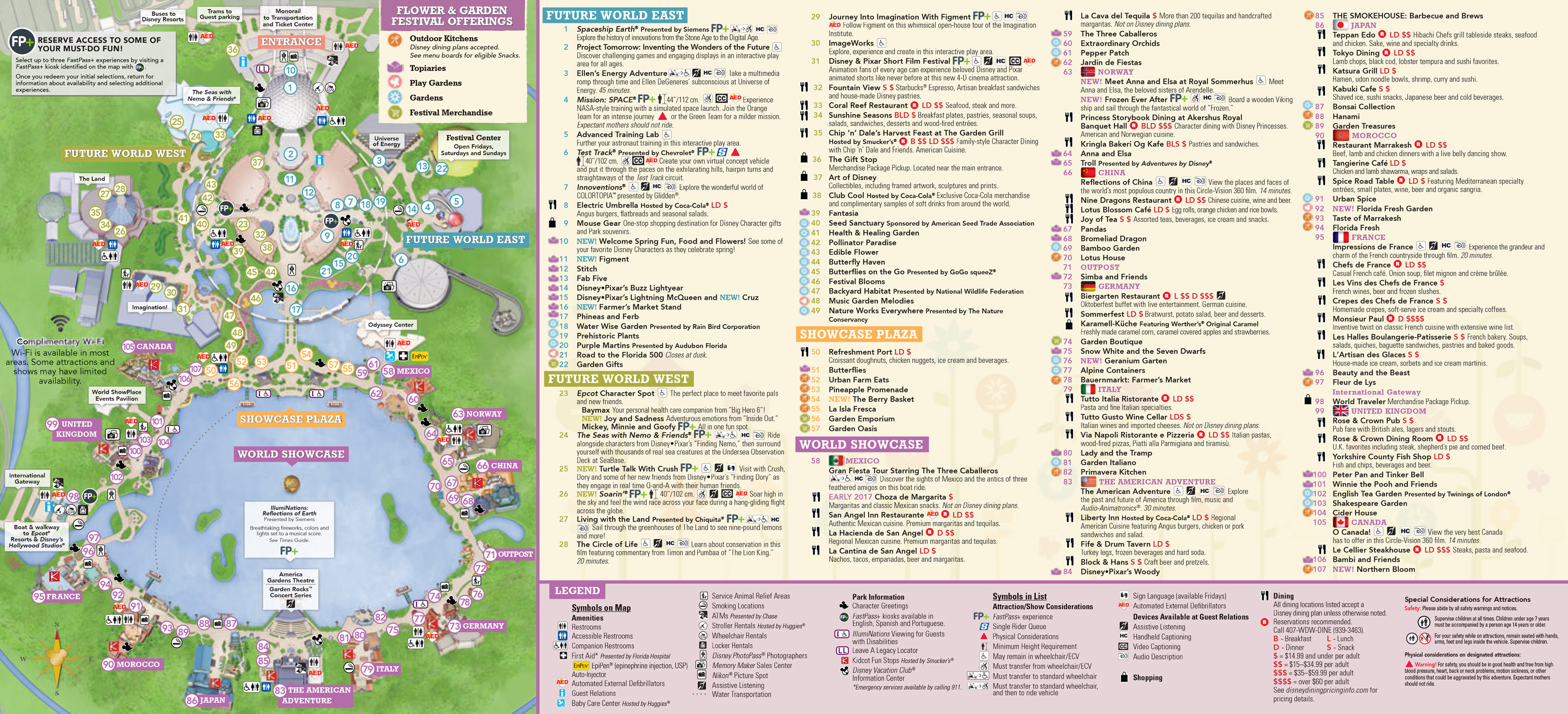 Plan Walt Disney World Epcot