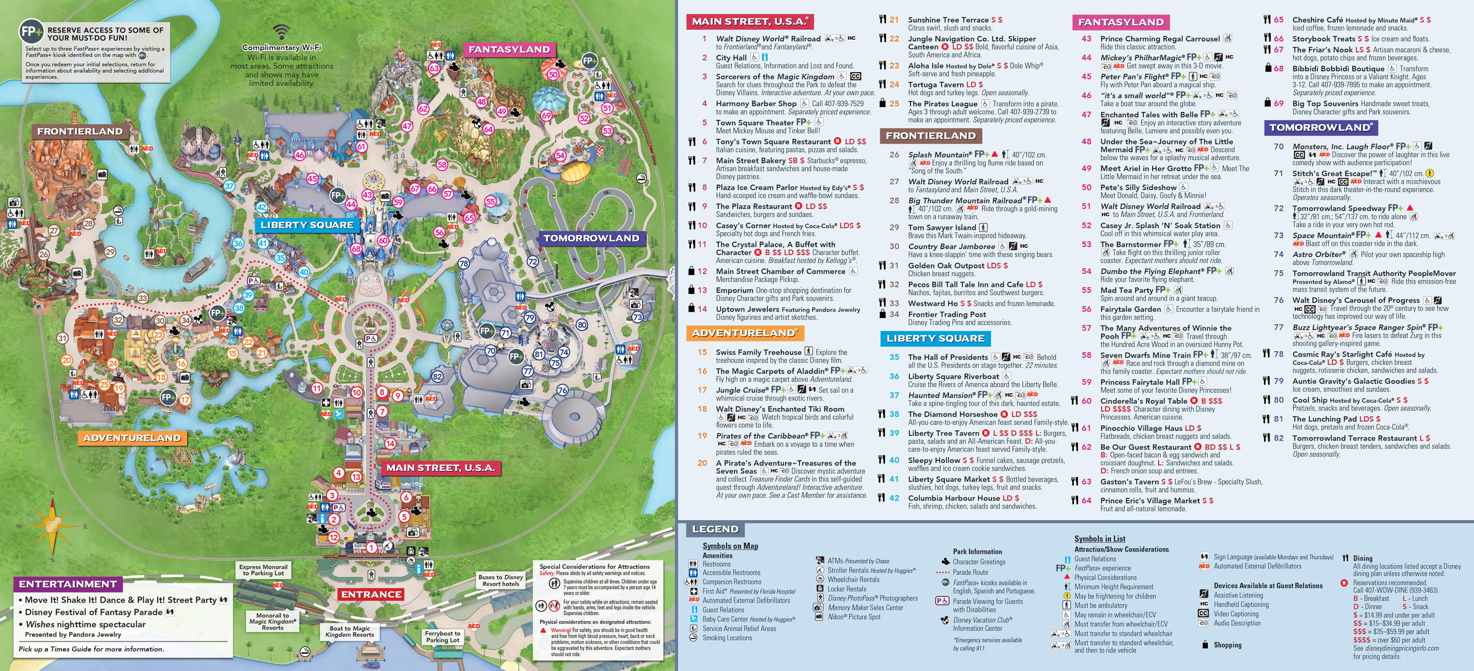 Plan Walt Disney World Magic Kingdom