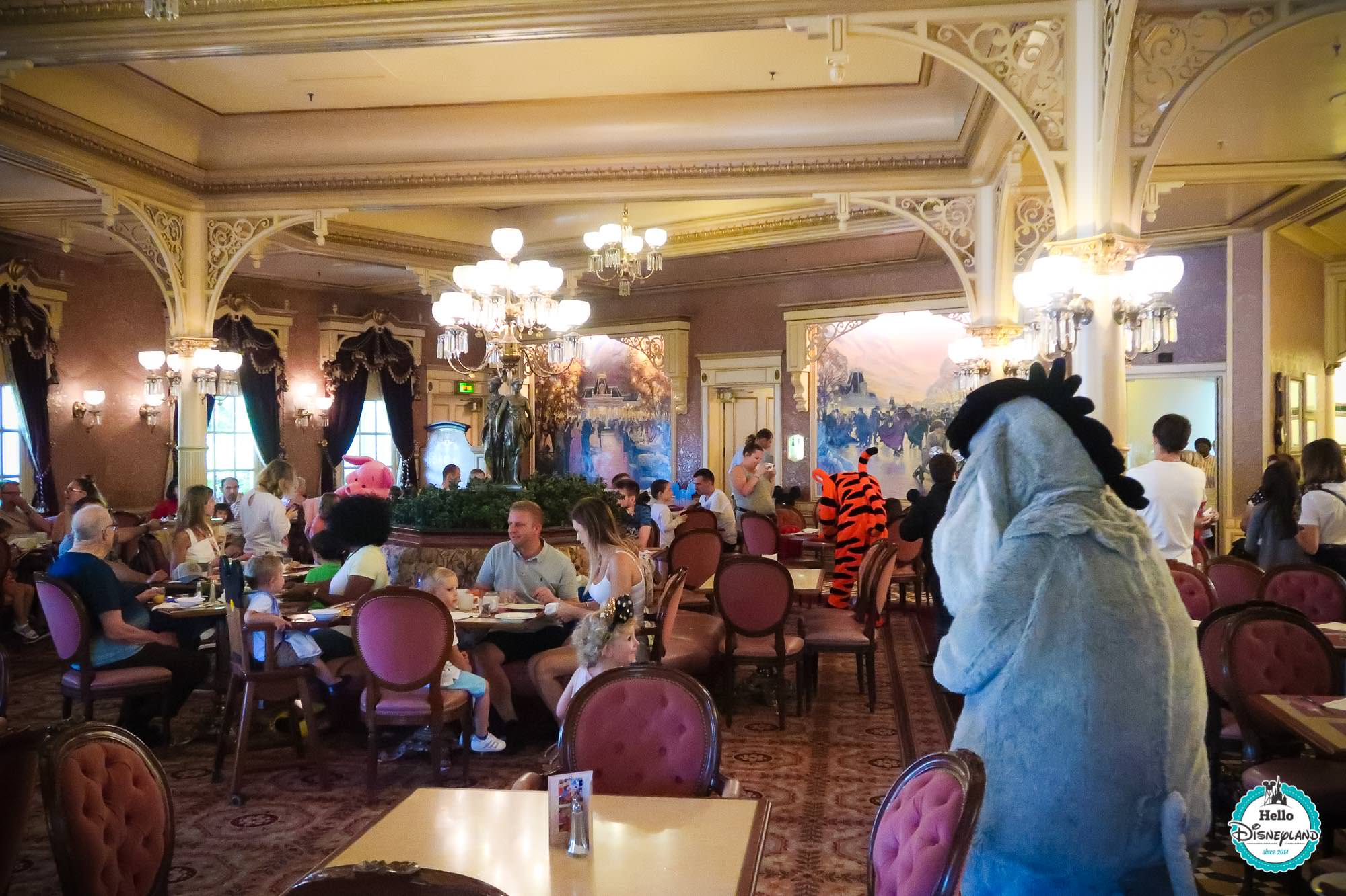 Hotel New York Disneyland Restaurant