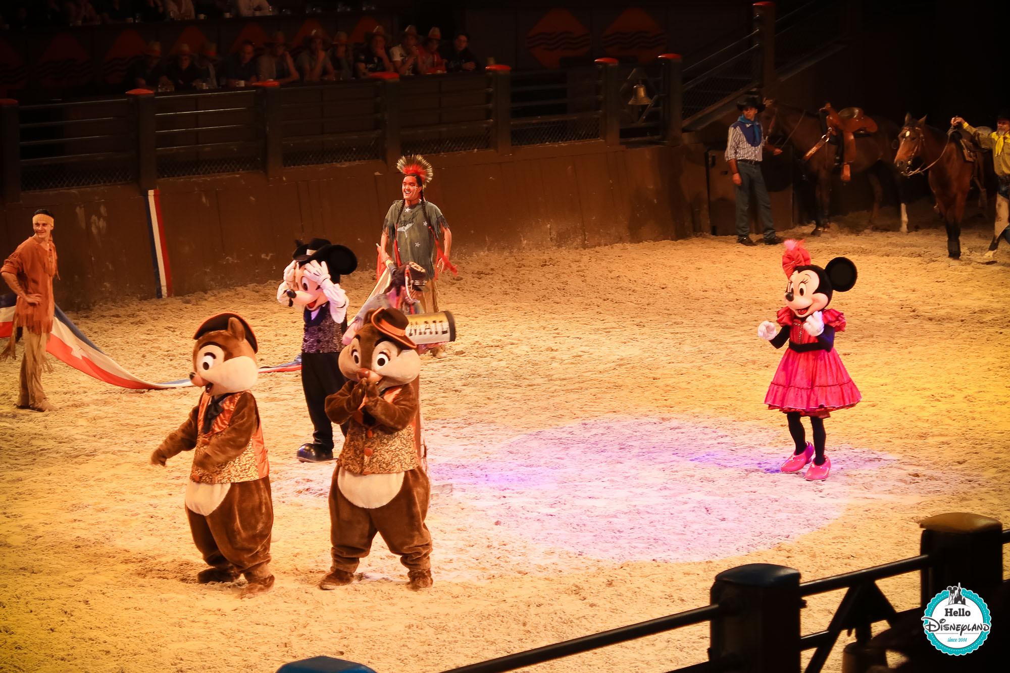 La Légende de Buffalo Bill avec Mickey et ses amis