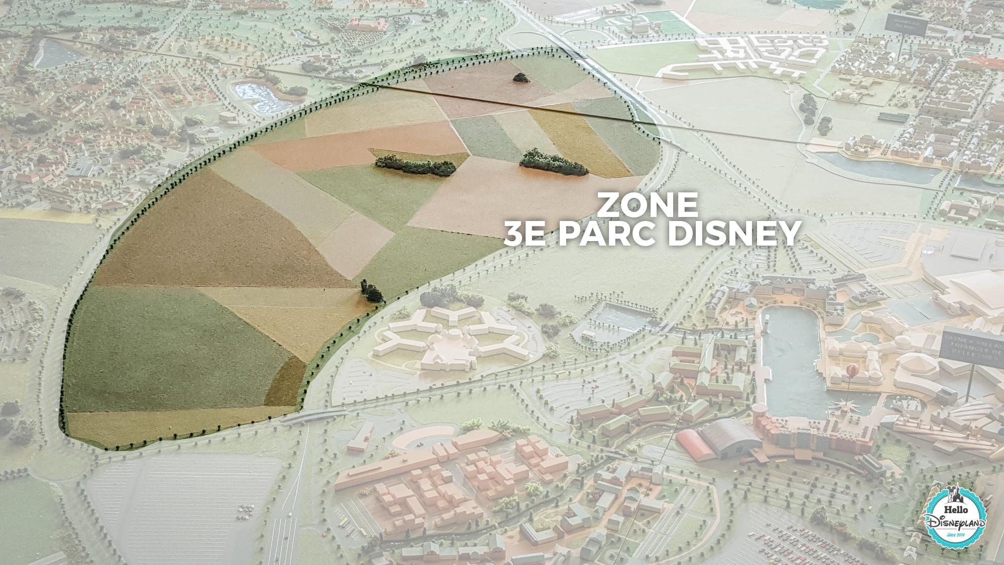 Troisième parc Disney - evolution Disneyland Paris 2030