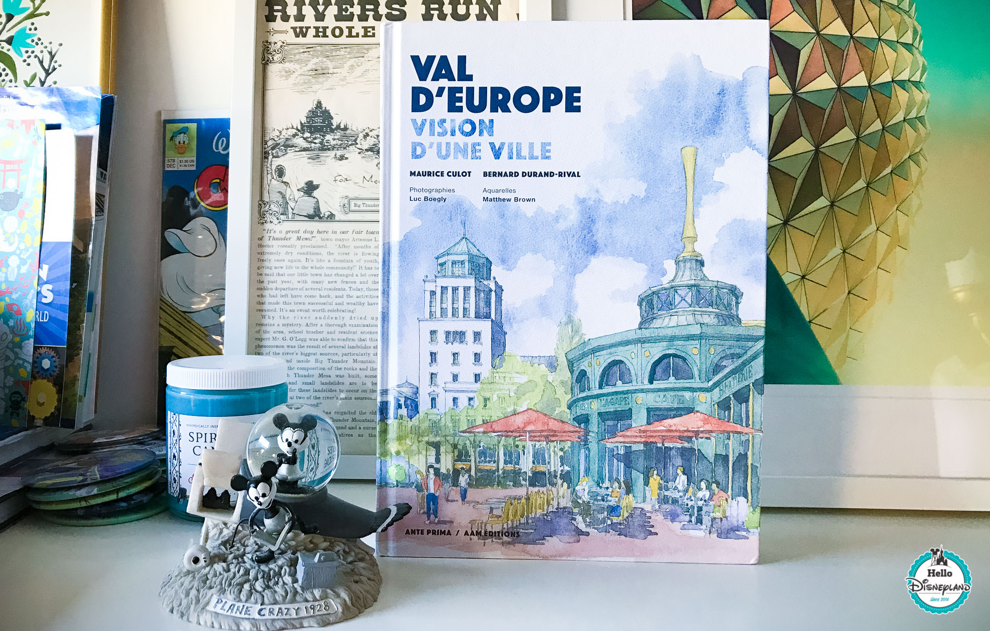 Val d Europe Livre - Disneyland Paris-1