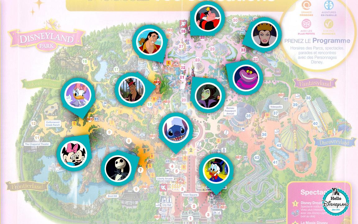 Où rencontrer les personnages Disney et Méchants pendant Halloween 2017