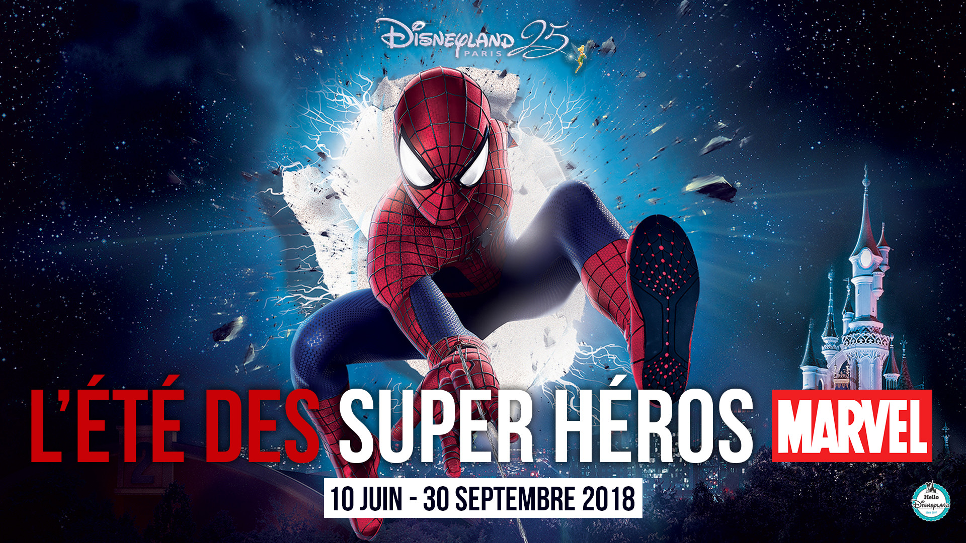 hello disneyland le blog n 1 sur disneyland paris l 39 t des super h ros infos et programme. Black Bedroom Furniture Sets. Home Design Ideas