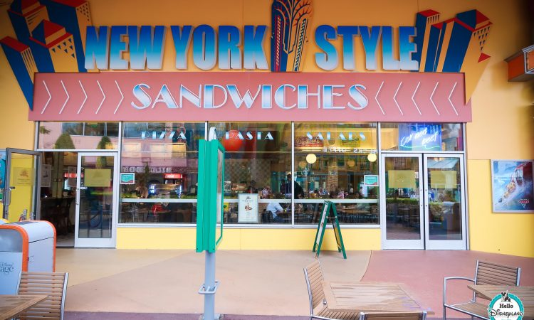 New York Style Sandwiches - Disneyland Paris