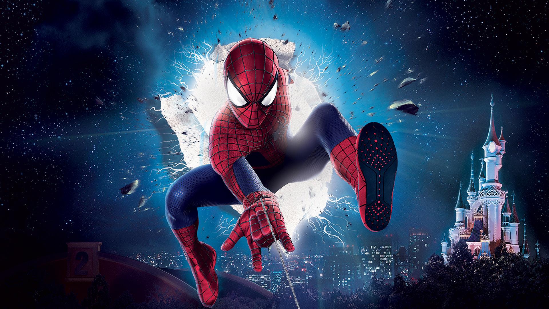 Spectacle cinémagique super héros disneyland paris