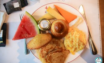 Petit dejeuner Disneyland Hotel - Disneyland Paris