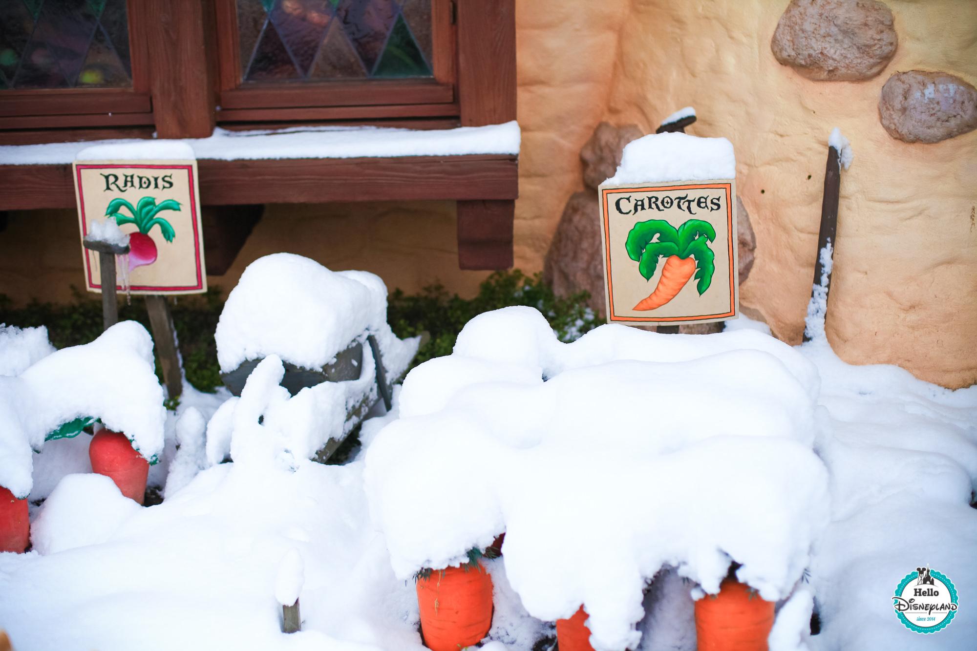 Snow Disneyland Paris Neige
