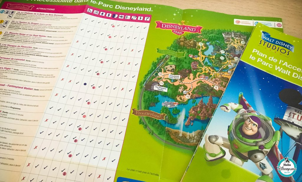 Plan acces prioritaire - Disneyland Paris-2