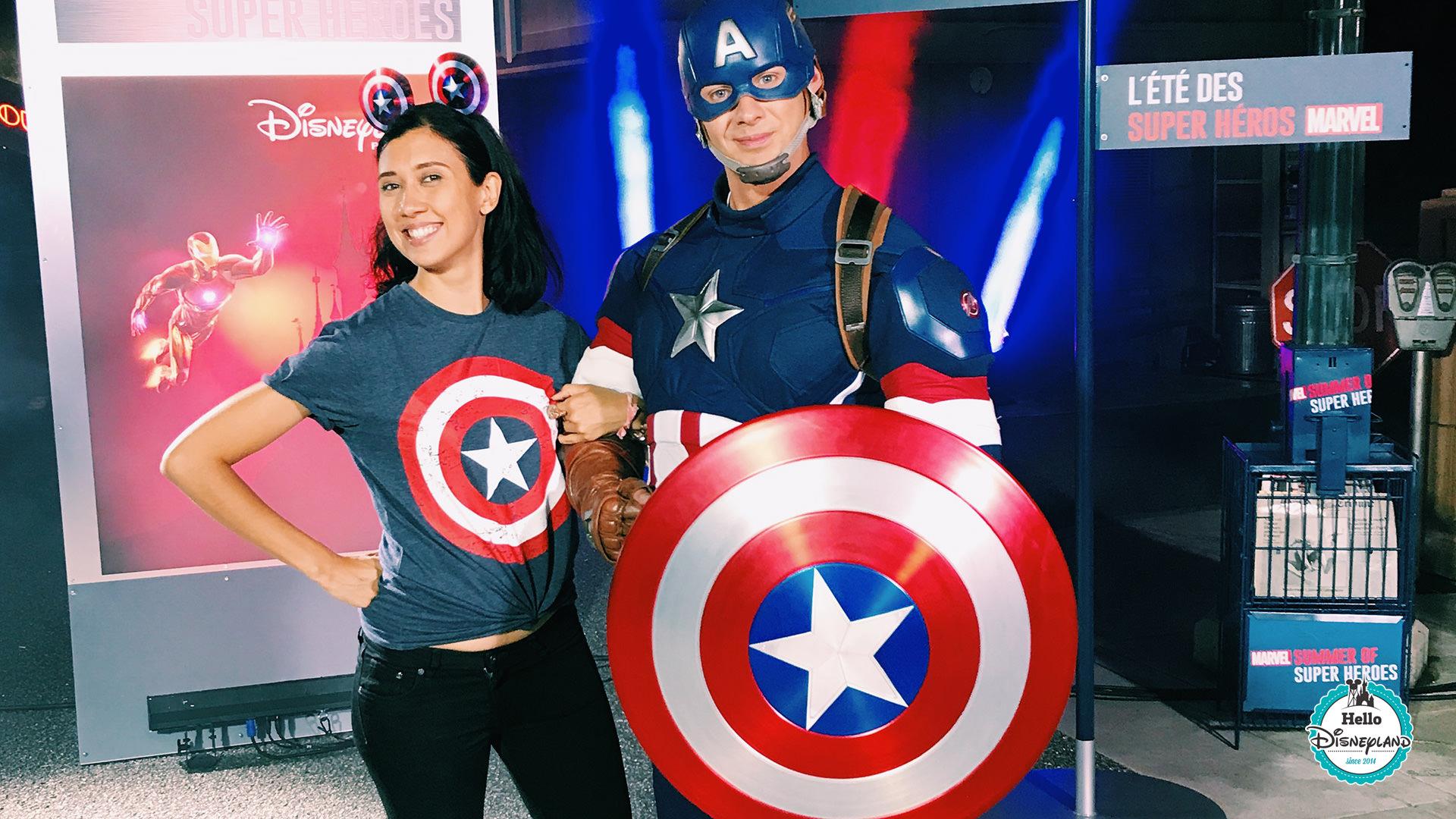 Ete des super heros - Disneyland Paris