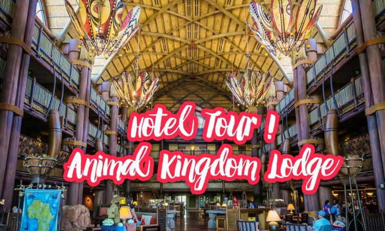 Hotel Tour animal Kingdom Lodge