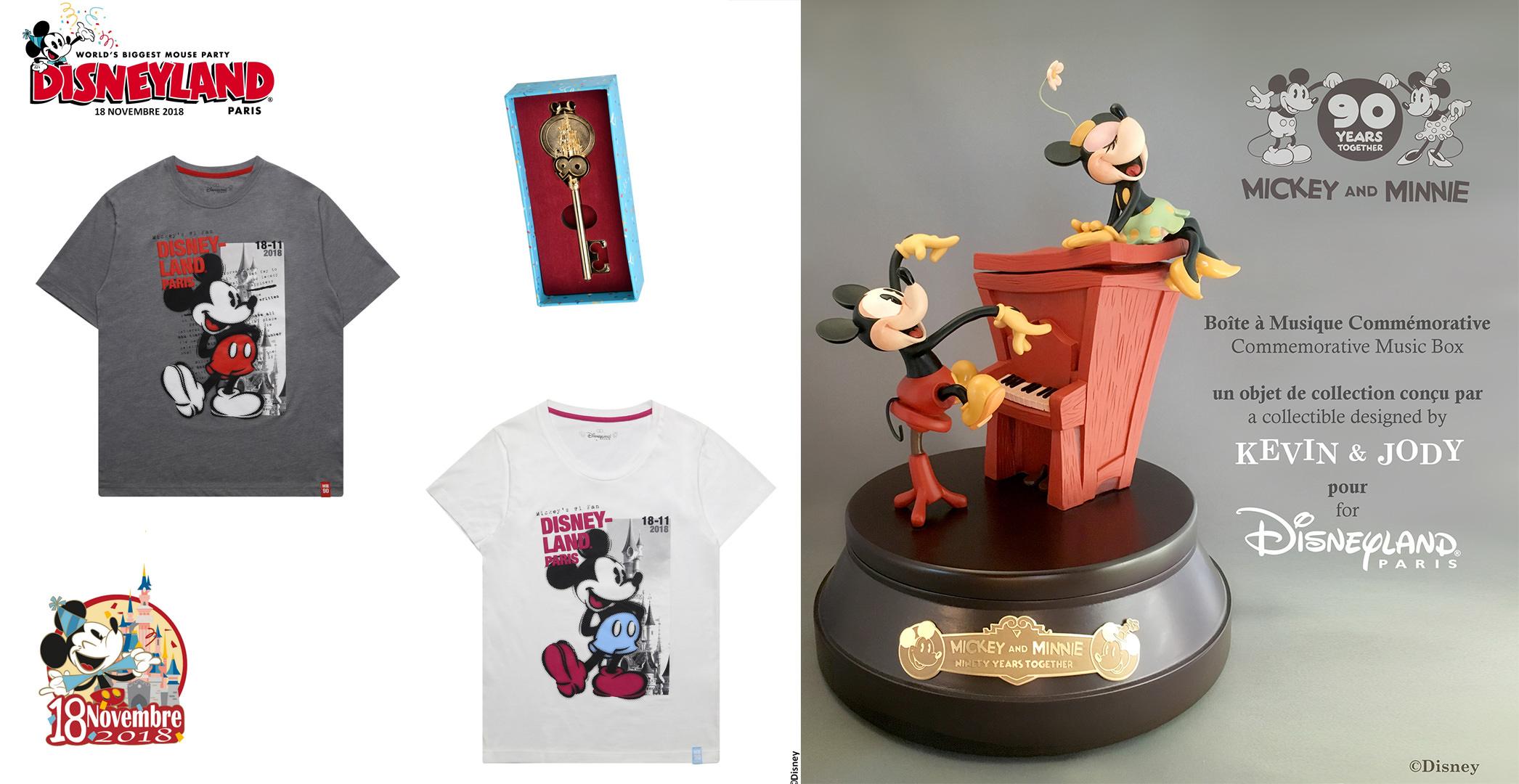 merchandising 90 ans de mickey 18 novembre 2018