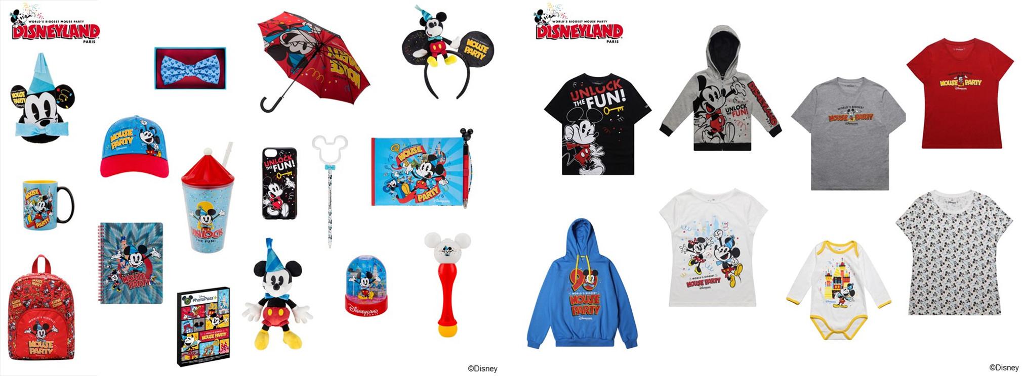 merchandise Mickey 90 Disneyland Paris