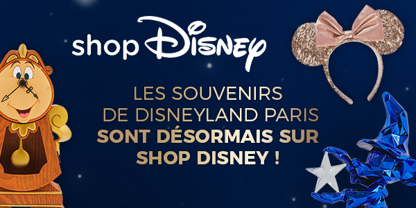 Acheter souvenir Disneyland Paris par correspondance