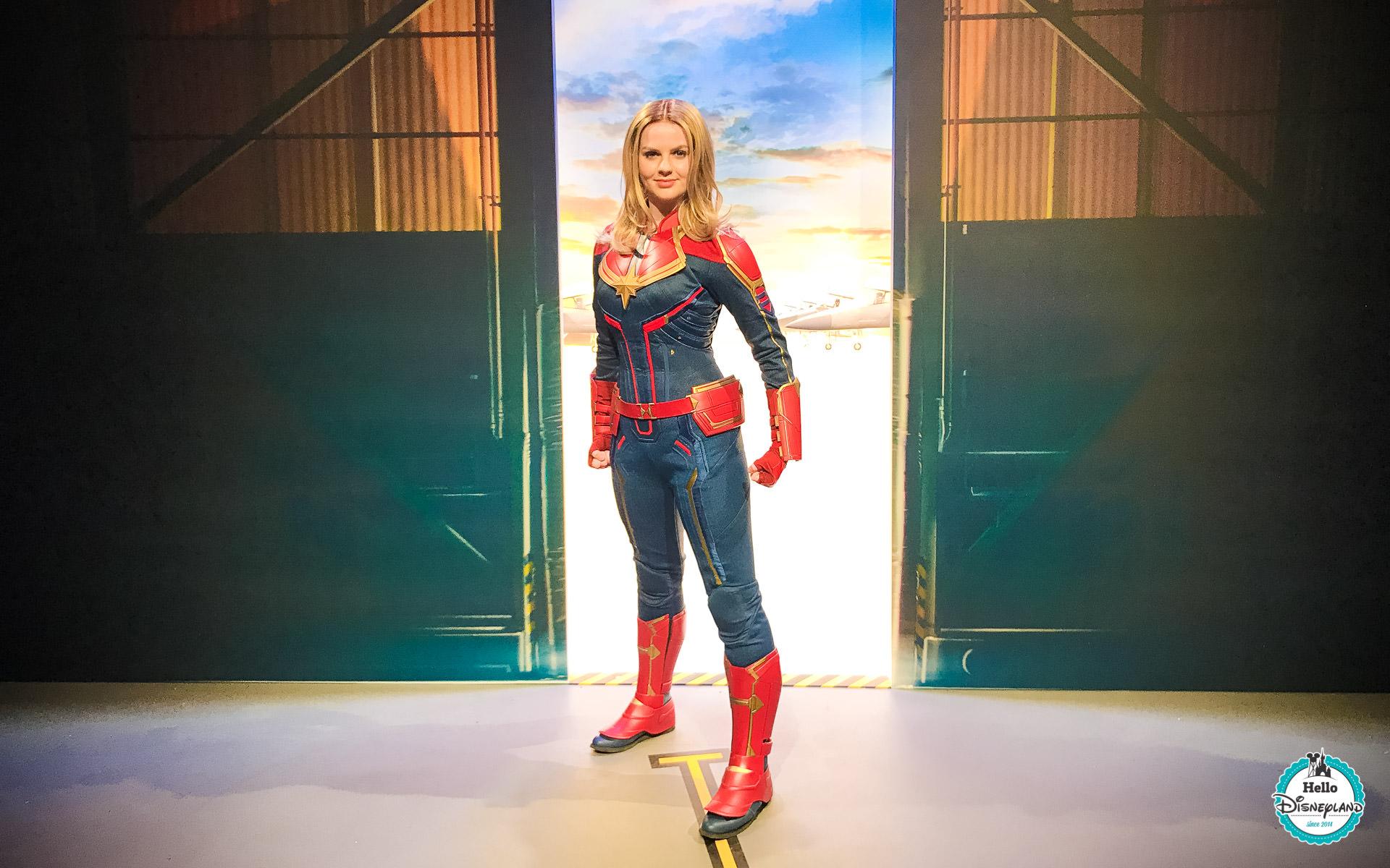 Rencontre avec Captain Marvel
