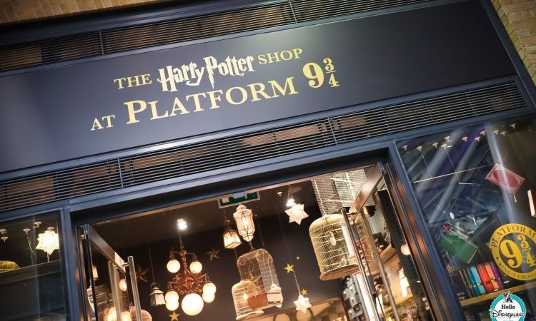Boutique The Harry Potter Shop - Gare Londres