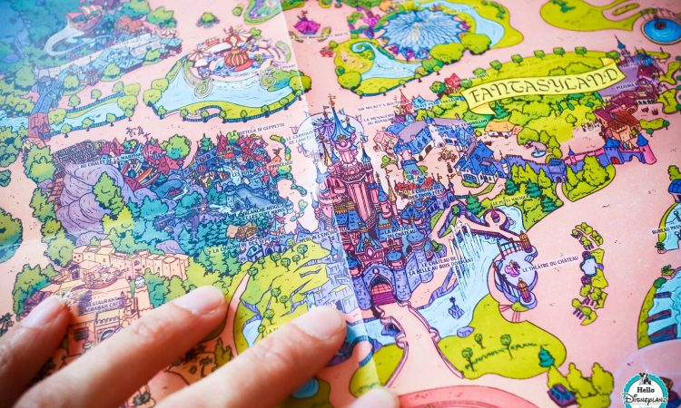 Disneyland Paris Fun Map 2019-12