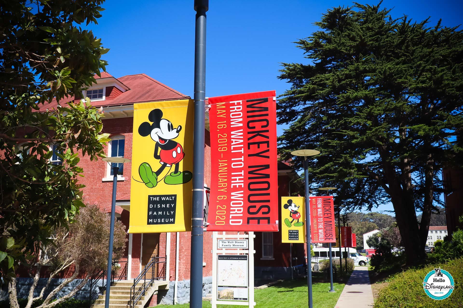 Mickey Mouse from Walt to the World au Walt Disney Family Museum de San Francisco