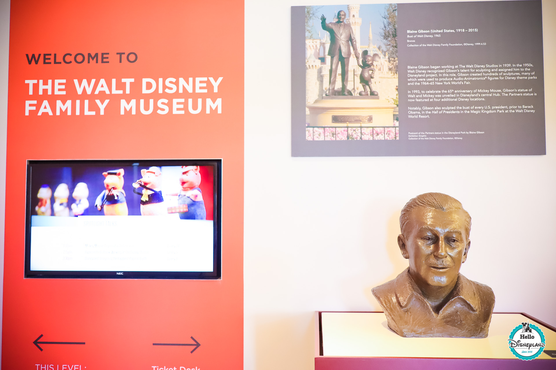 Walt Disney Family Museum de San Francisco