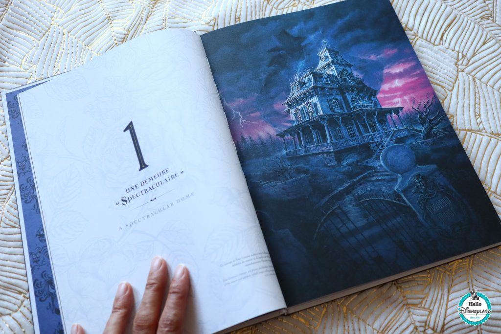 Les livres attractions de Disneyland Paris phantom manor