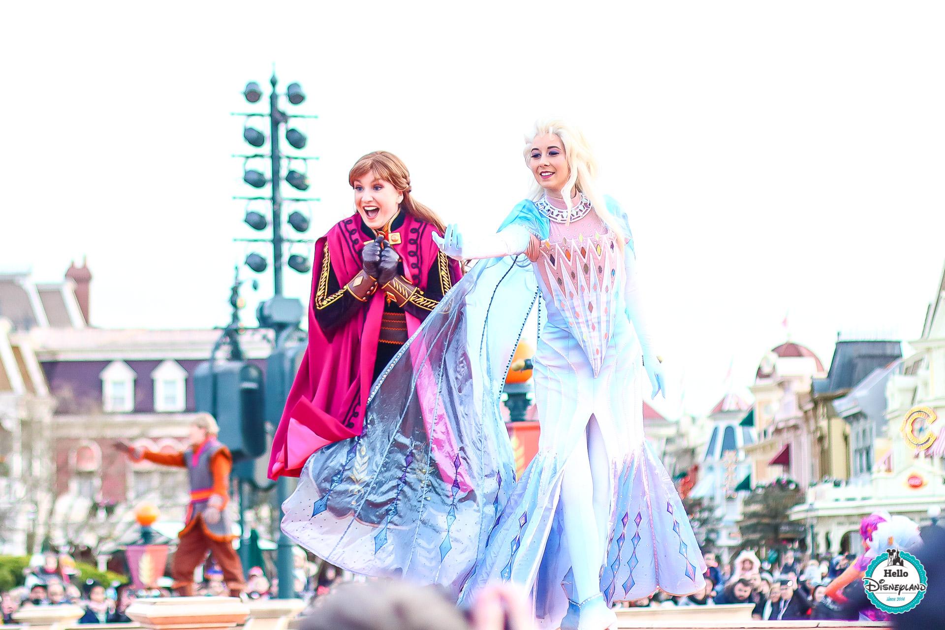 Célébration de la Reine des Neiges Disneyland Paris
