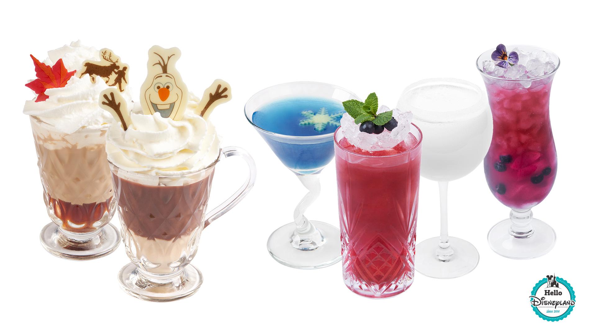 Cocktails Reine des Neiges Disney