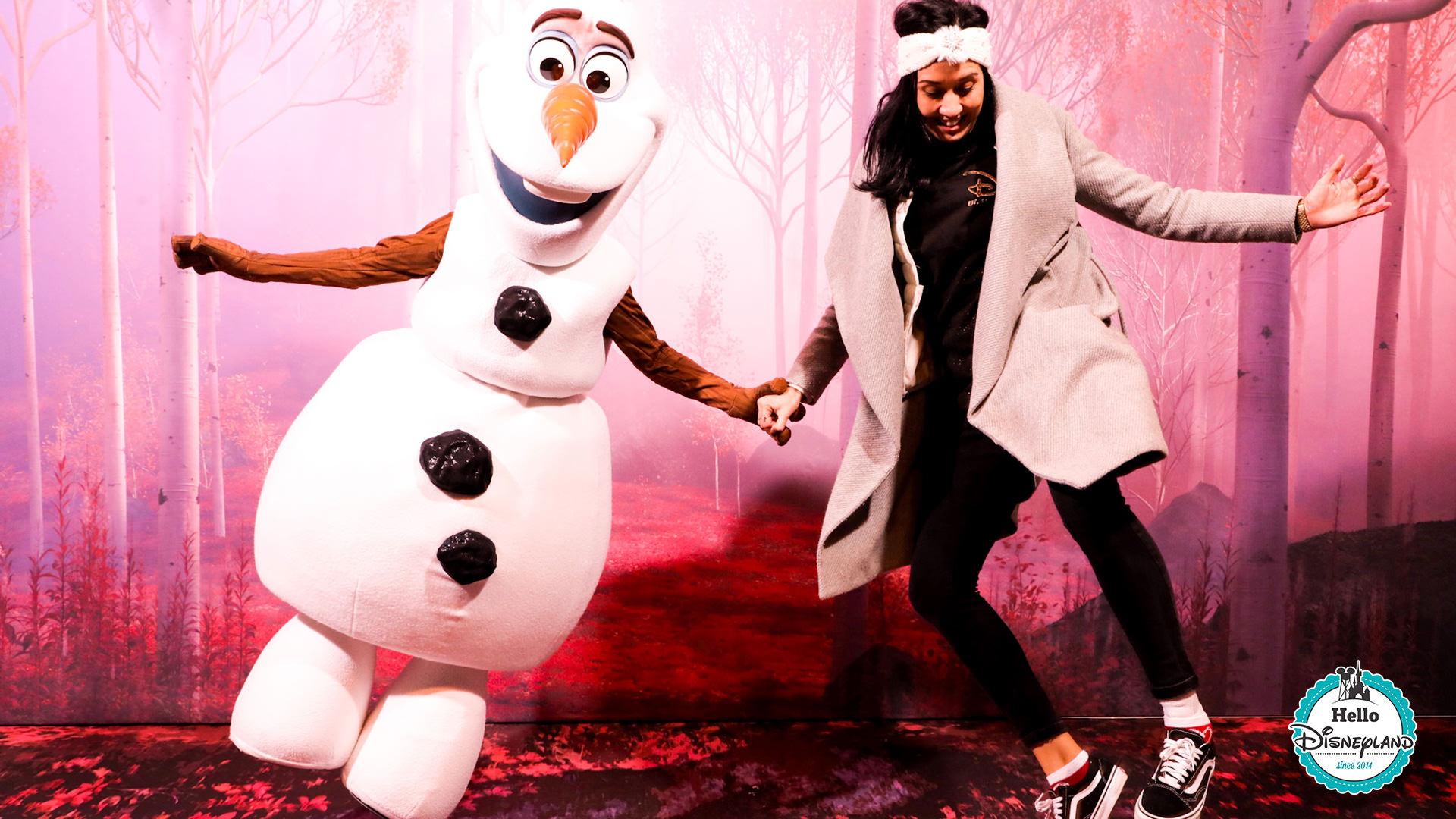 Comment rencontrer Olaf à Disneyland Paris ?