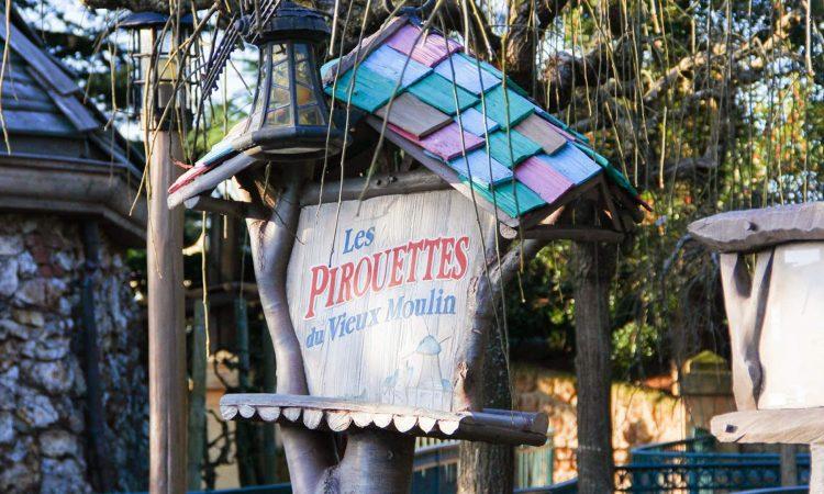 Les Pirouettes du Vieux Moulin à Disneyland Paris