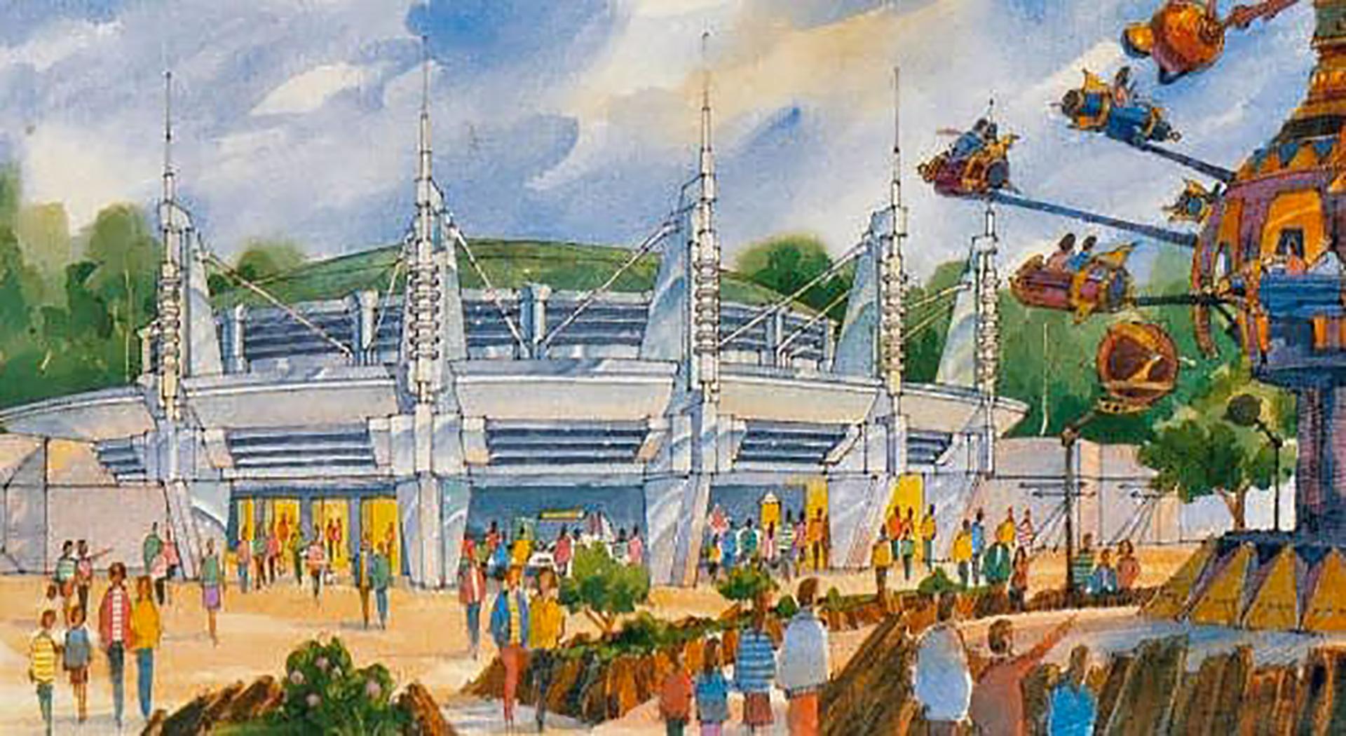 Concept Art Le Visionarium à Disneyland Paris