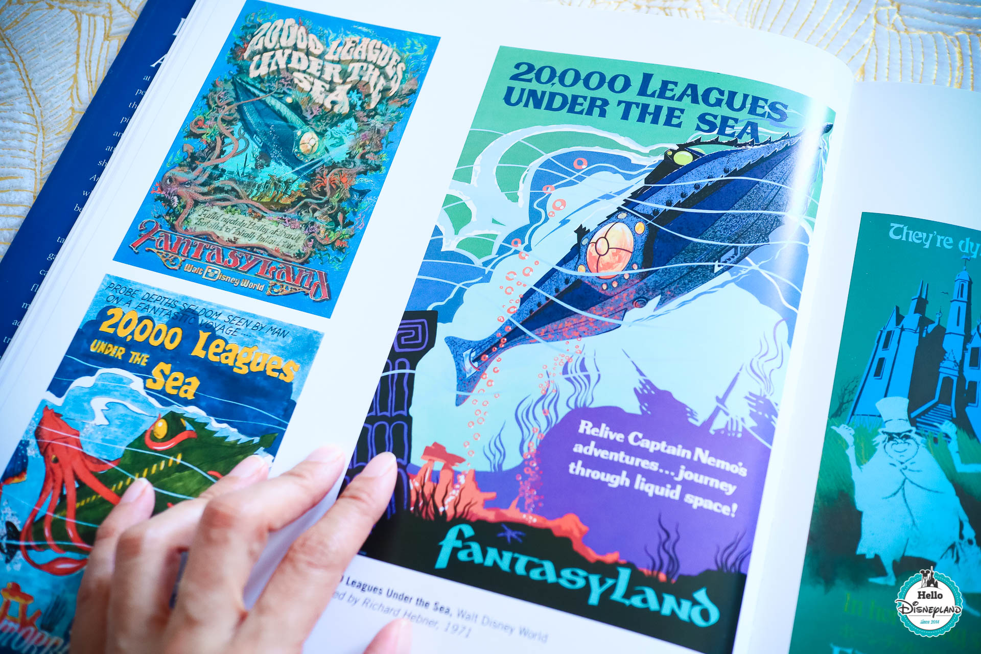 livre sur les posters d'attractions Disney ? Poster Art of the Disney Park