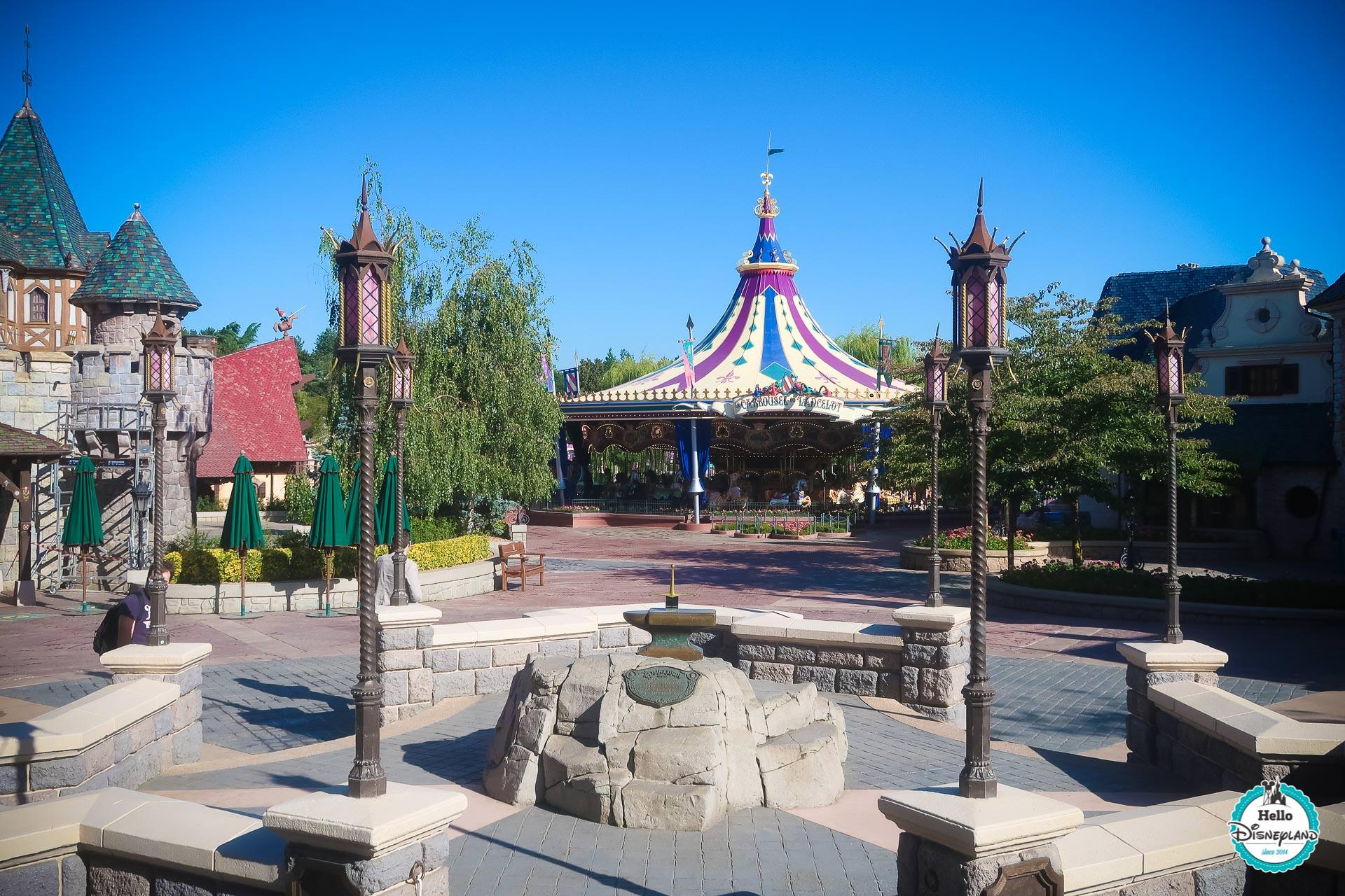 Disneyland Paris pendant le confinement