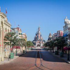 Reouverture Disneyland Paris - vide pendant sa fermeture