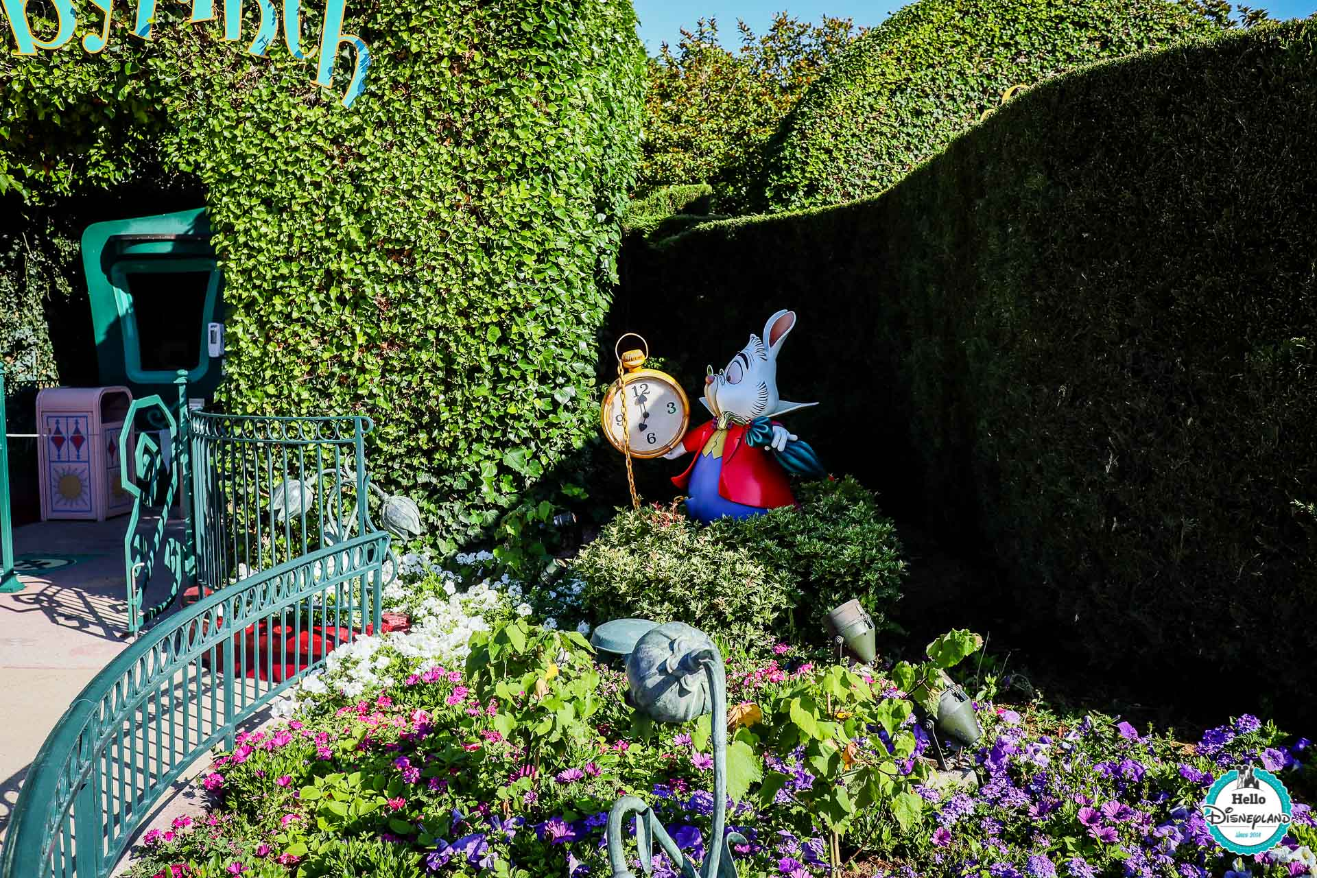 Disneyland Paris pendant sa fermeture
