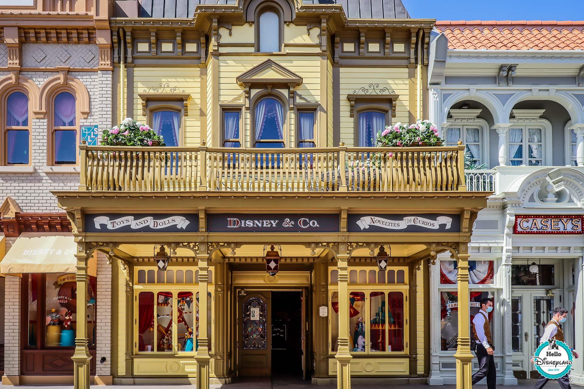 Disneyland Paris vide