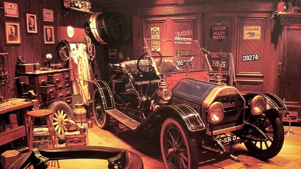Main Street Motors en 1992 à Disneyland Paris