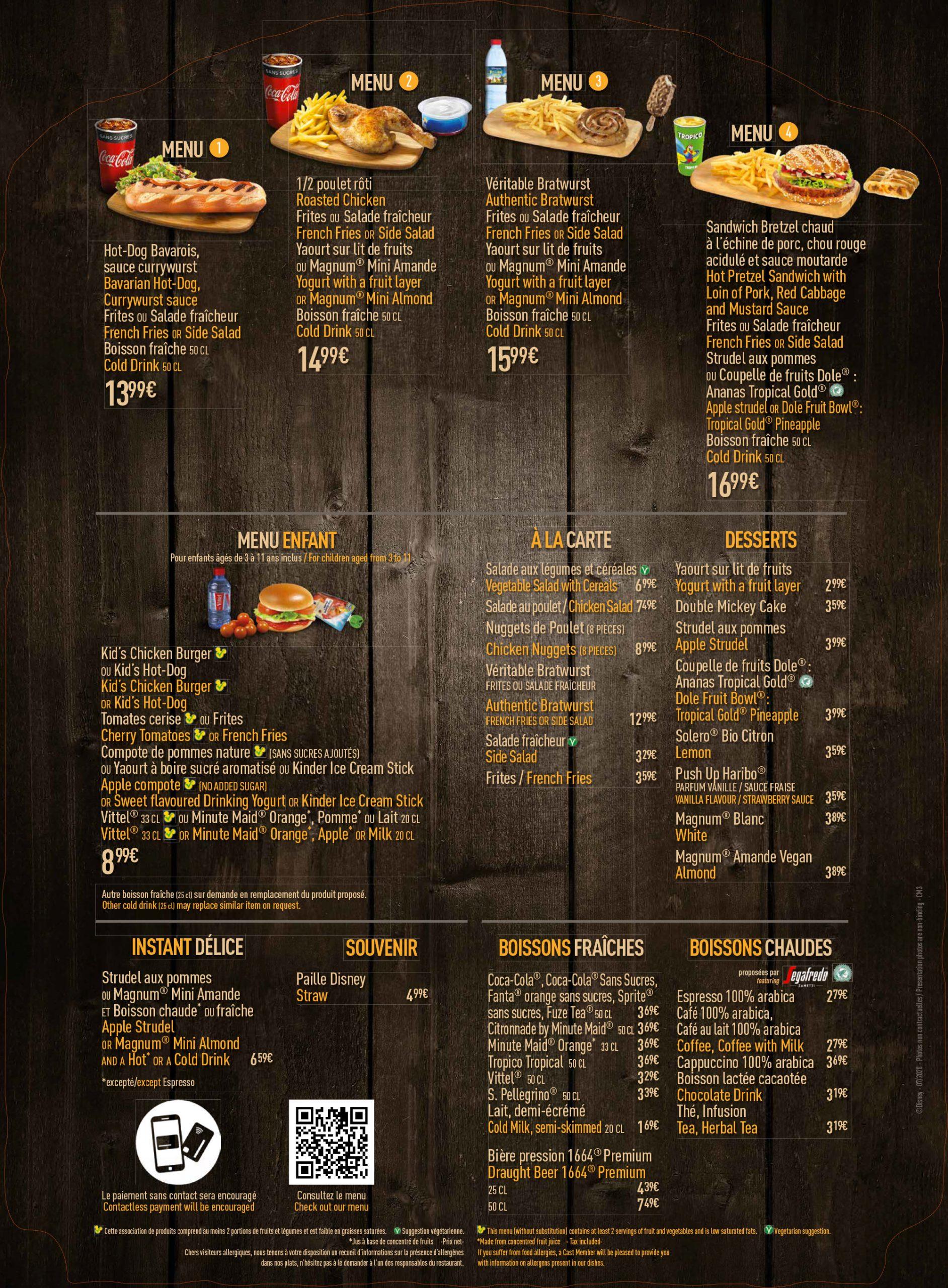 menu-disneyland-paris-2020-chalet-marionnette
