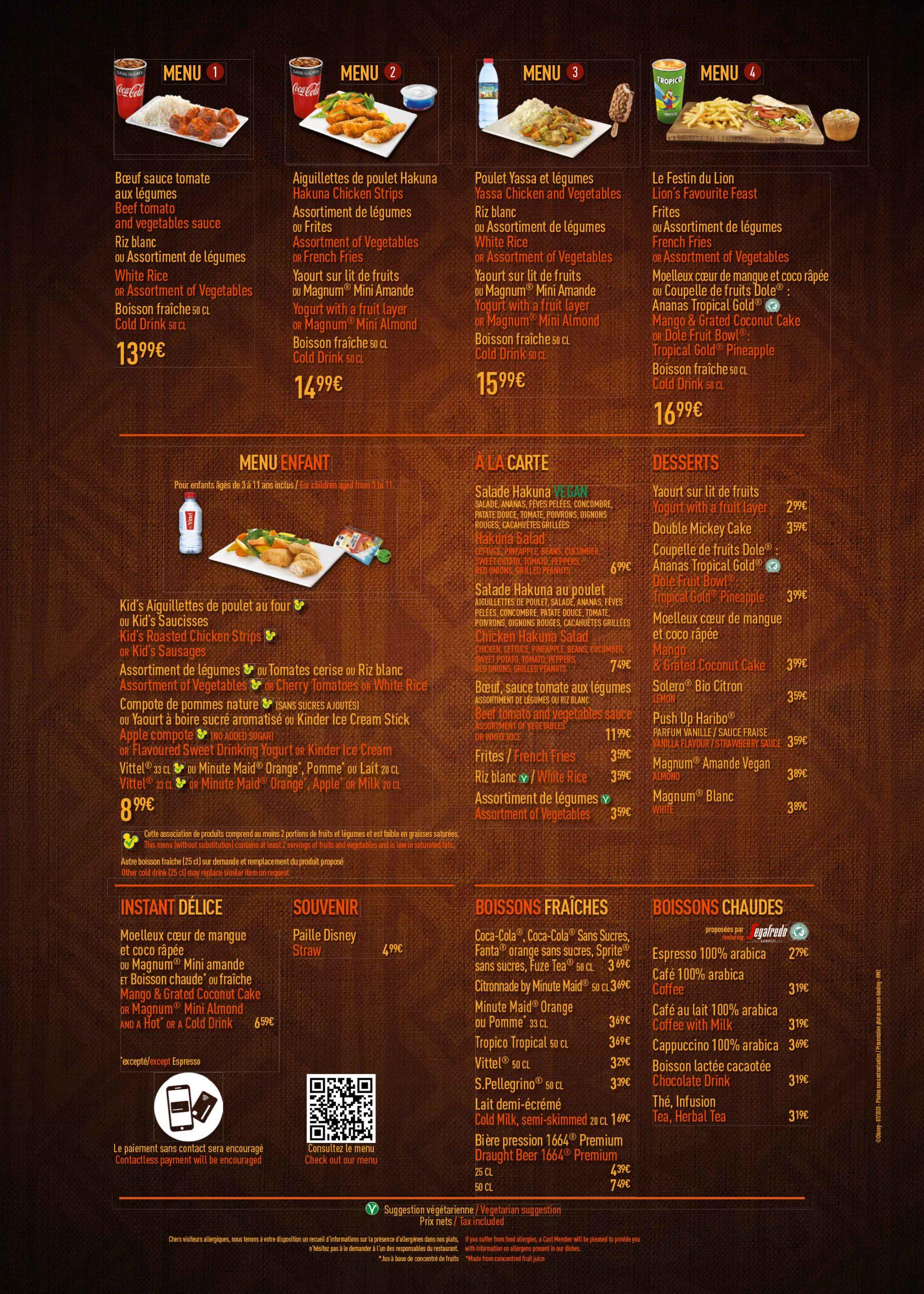 menu-disneyland-paris-2020-hakuna-matata