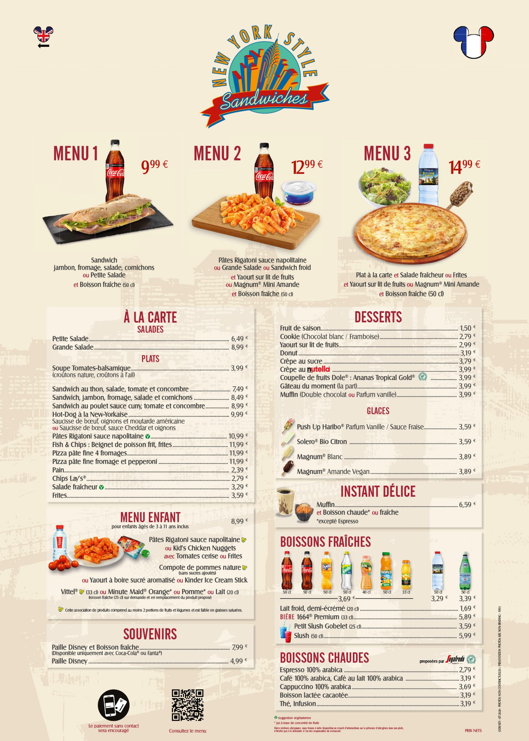 menu-disneyland-paris-2020-new-york-style-disney-village