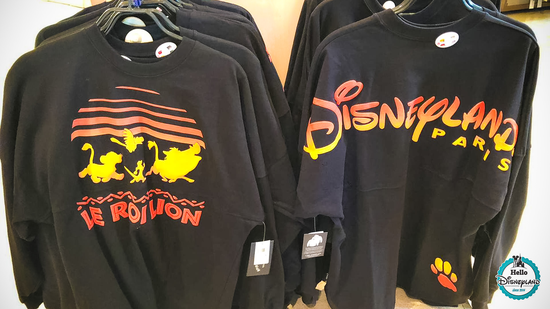 spirit jersey roi lion disneyland paris