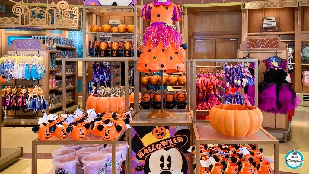 shopping halloween disneyland paris