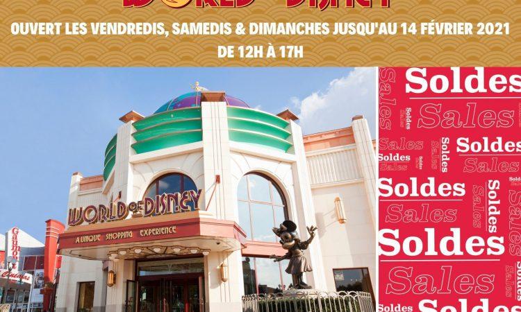 SOLDES 2021 0 DISNEYLAND PARIS