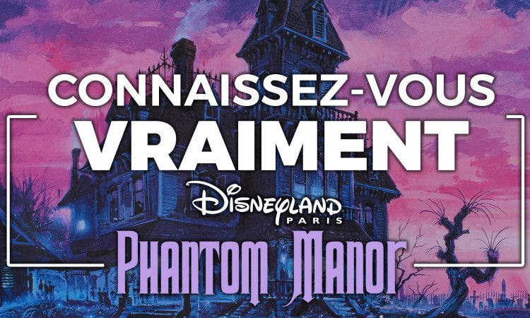 histoire phantom manor disneyland paris