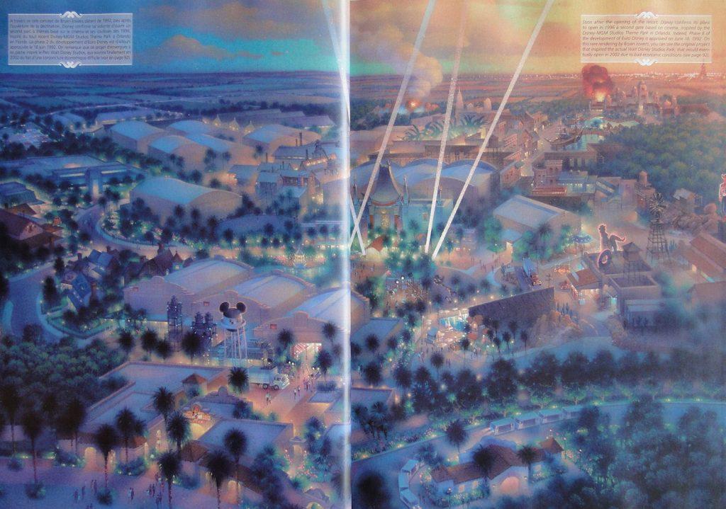 walt disney studio MGM europe 1995 annoncée lors de La cérémonie d'ouverture de Disneyland Paris en 1992